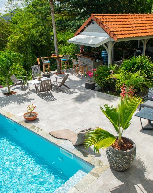 Kaz O'Rocher- piscine